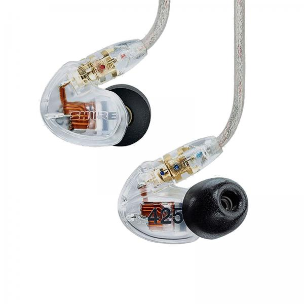 Casti profesionale in-ear Shure SE425-CL cu Dual High Definition MicroDriver