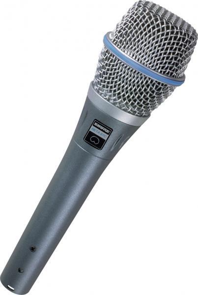 Microfon profesional Shure Beta 87C