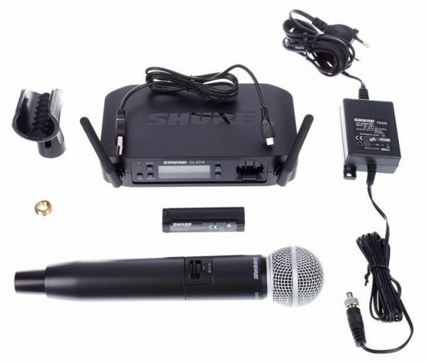 Microfon wireless Shure GLXD24/SM58 original, microfon si receiver 3