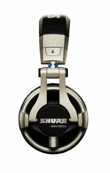 Casti profesionale DJ Shure SRH750DJ, tehnologie closed-back, Gold 2