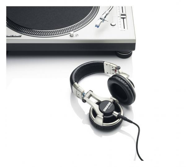 Casti profesionale DJ Shure SRH750DJ, tehnologie closed-back, Gold 3