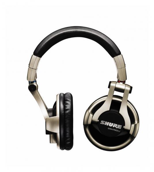 Casti profesionale DJ Shure SRH750DJ, tehnologie closed-back, Gold 0