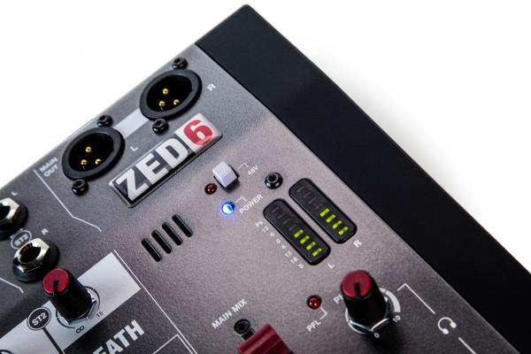 Mixer Analogic Allen & Heath ZED6, 6 canale 5