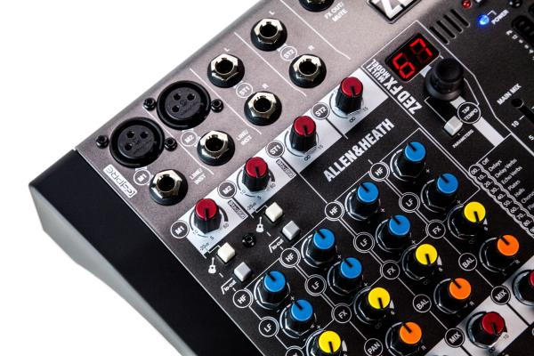 Mixer Analogic Allen & Heath ZED6 FX, 6 canale cu efect incorporat