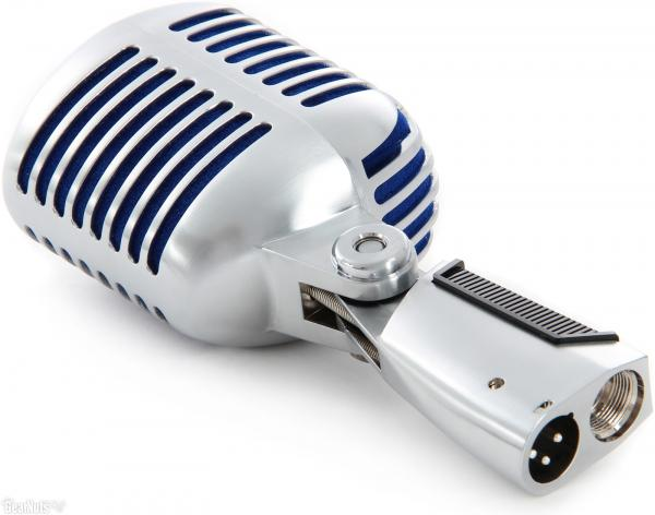 Microfon profesional  Shure SUPER 55 Deluxe cu design clasic 2