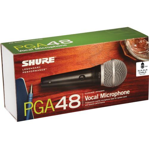 Microfon profesional dinamic cu fir Shure PGA 48, cardioid 1