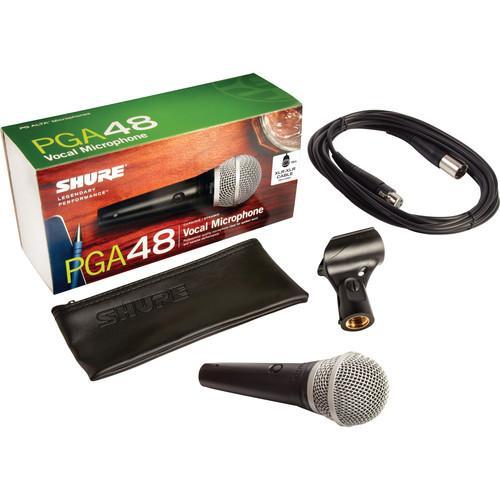 Microfon profesional dinamic cu fir Shure PGA 48, cardioid 3