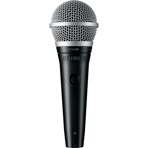 Microfon profesional dinamic cu fir Shure PGA 48, cardioid 0