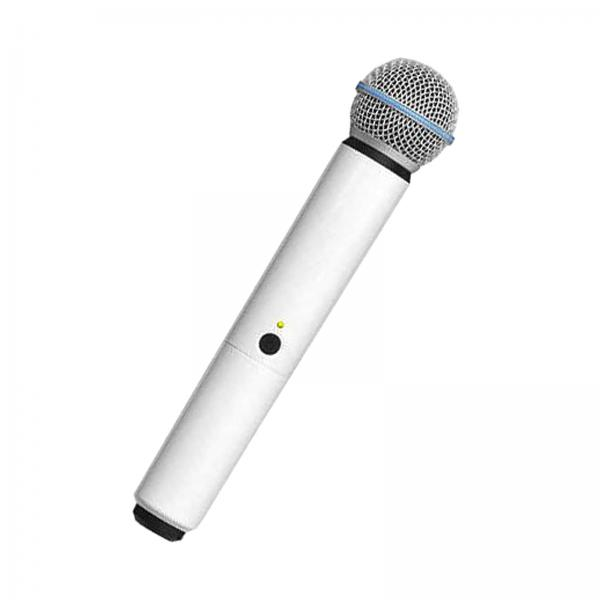 Carcasa de schimb pentru microfoane Shure BLX SM58/B58, alba