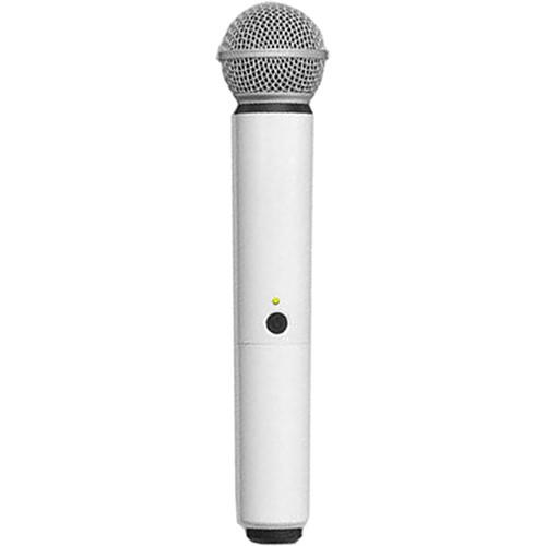 Carcasa de schimb pentru microfoane Shure BLX SM58/B58, alba 0