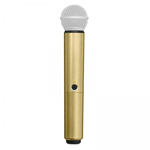 Carcasa de schimb pentru microfoane Shure BLX SM58/B58, aurie (gold) 0