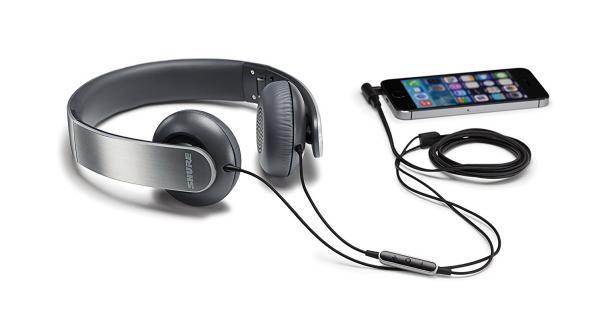 Casti profesionale Shure SRH145M+, pliabile, cu comanda si microfon compatibile iOS 1