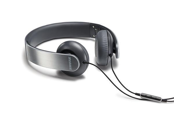 Casti profesionale Shure SRH145M+, pliabile, cu comanda si microfon compatibile iOS 4