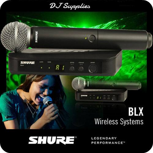 Microfon wireless Shure BLX24/SM58 original 1