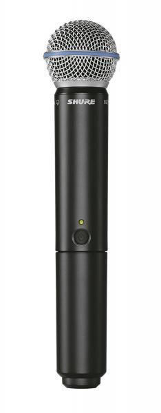 Microfon wireless Shure BLX24/B58 original, microfon si receiver