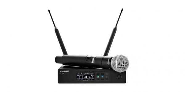Microfon wireless Shure QLXD24/SM58=-G51