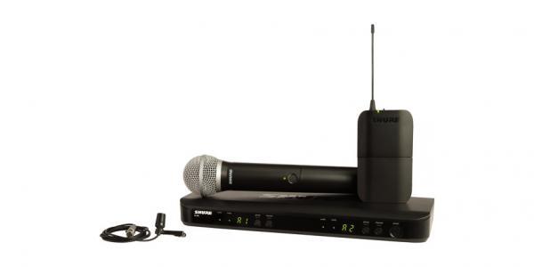 Sistem wireless combo Shure BLX1288E/CVL-H8E 0