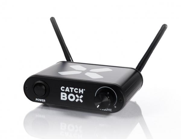 Microfon wireless CatchBox Lite, pentru conferinte de 100 persoane, culoare albastra 3