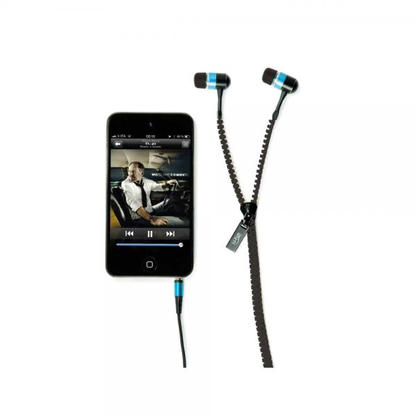 Casti audio in-ear hi-Fun hi-Zip 13194, black 0