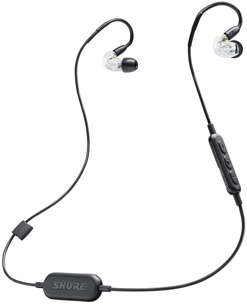 Casti profesionale in-ear Shure SE215-CL-BT1-EFS,  Bluetooth, Wireless, cu super izolare fonica, transparent 6