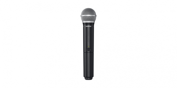 Sistem profesional wireless original Shure BLX24/PG58, microfon si receiver 3