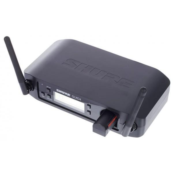 Microfon wireless Shure GLXD24R/B58, original, receiver si microfon